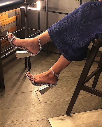 Delicate yet sturdy, these Statement Block #INTOTOs are now available on our website  . . .  #globaltrends #fashionforall   #shoelove #trending #womenswear #designershoes #shoefie #newcollection #musthave #trendy #partywear #new #elegant #whatshot #weekendwear #stylefile #saturday #shineon #strappys #party #weekend #statementblock