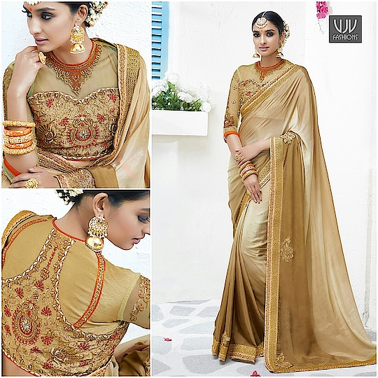 Buy Now @ https://goo.gl/ZJyZRX  Aligetic Beige And Brown Georgette Designer Saree  Fabric- Georgette  Product No 👉 VJV-LAVA7001  @ www.vjvfashions.com  #saree #sarees #indianwear #indianwedding #fashion #fashions #trends #cultures #india #instagood #weddingwear #designer #ethnics #clothes #glamorous #indian #beautifulsaree #beautiful #lehengasaree #lehenga #indiansaree #vjvfashions #pretty #celebrity #bridal #sari #style #stylish #bollywood #vjvfashions