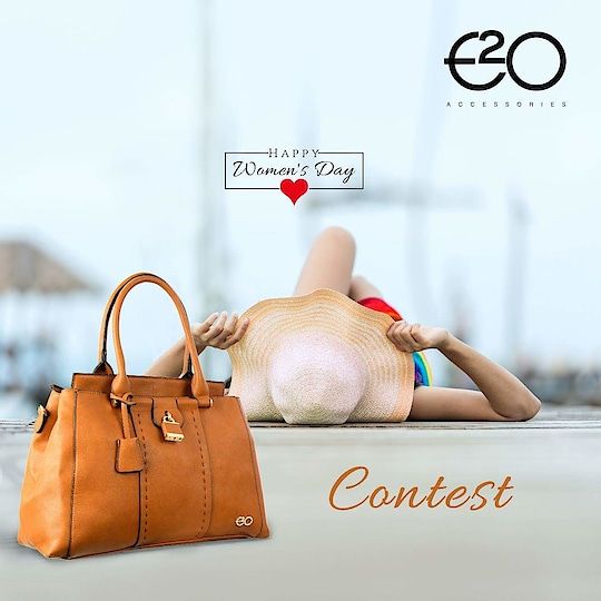 #ContestAlert  Let's celebrate womanhood this women's day! Tell us about the woman who inspired you & stand a chance to win handbag by E2o Fashion  1.)  Repost & Share this post on your social media handles  2.)   Tell us about 1 women who has been an inspiration  3.)   Follow @E2oFashion on Instagram, Facebook & Twitter  4.)  Tag minimum 5 friends in comments section below with #SheInspiredMe #Contest #WomensWeek