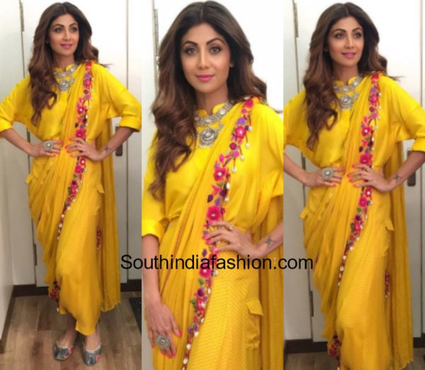 Yay or Nay: Shilpa Shetty in Sonam Luthria.