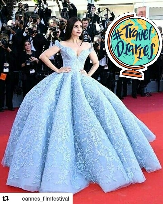 She's stealing the show! 💕    #Repost @cannes_filmfestival  with @repostapp ・・・ #AishwaryaRai at the #CannesFilmFestival .  @festivaldecannes #Cannes70 #Cannes2017 #aishwaryaraibachchan #fashion #fashionblog #beauty #beautyblogger #like #love #jaipurblogger #jaipurbloggers #ny #india #look #follow #likeforlike #newyork #dubai #lookoftheday #look #magazine #igers #igersjaipur #inspiration #motivation #treasuremuse 😊 #roposolive #roposogal #ropo-love #roposo #roposoblogger #roposofashion #roposofood #soroposo #roposostickers #traveldiaries