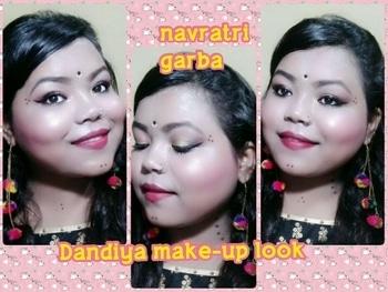 navratri make-up tutorial is out on my YouTube channel link in my bio must watch n subscribe to my channel  #garba look #garba   #dandiya night  #dandiyaraas #dandiyalook  #durgapooja  #makeup #eye-makeup #eyebrowsonfleek #different-is-beautiful  #swissbeauty #starshape  #eyeliner #kissbeauty #youtubeindia #youtubechannel #makeuptutorial #makeupvideo #youtubeindia