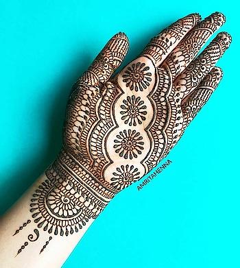 simple mehandi design #ropo-girl #lookgoodfeelgood