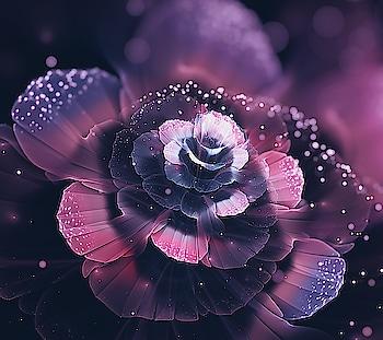 #flower #illusion #pink #purple #dreamy. #effect