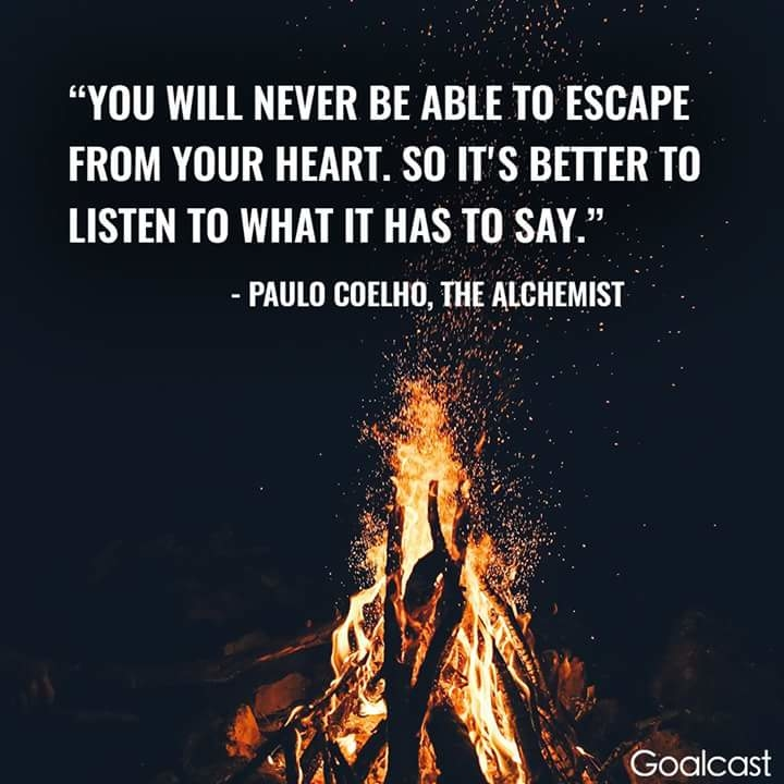 #listen what Your #heart say..  ❤
