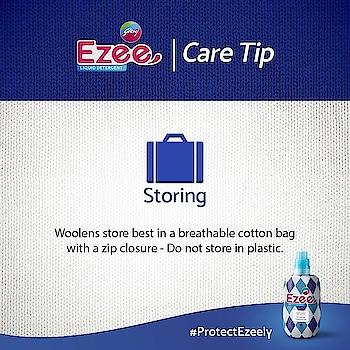 Protect your woolen clothes with Ezee #woolenclothes #ezeecare #ezeecares #followusonroposo