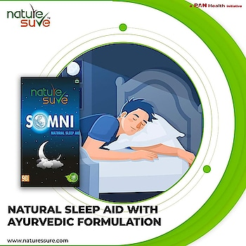 Nature Sure™ SOMNI Natural Sleep Aid Tablets are an Ayurvedic formulation of carefully selected herbs that have traditionally known to help manage sleep disorders, fatigue, nervous debility and stress.  Buy it online here:  Flipkart: https://bit.ly/2UCIrbF  Brand Website: https://bit.ly/2WJpiYj . . #sleepaid #sleeptab #sleeptablet #sleepingpills #naturesure #healthproduct #healthcare #healthproduct #healthylife #ayurvedic #natural