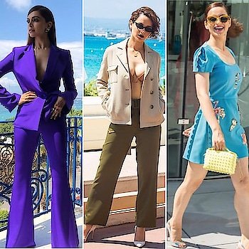#cannestastic Fashion Part 2 🌟 who gets your vote for #bestdressed so far?! 🙌🏻 . . . . . . #theredbox #crazysexycool #cannes #cannes2018 #cannesfilmfestival #celebstyle #celebfashion #celebritystyle #redcarpet #deepikapadukone #kanganaranaut #mallikasherawat #humaqureshi #ajanaomiking #jasminetookes #joansmalls #irinashayk #kendalljenner #bellahadid #cateblanchett #bollywoodstyle #bollywoodfashion #festivaldecannes #instagood #love #gorgeous #frenchriviera