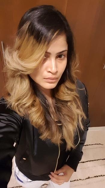 #selfiemood #goodhairday #blonde #ombre #nofilter #nomakeup #loveselfies #selfiequeen 👑 #dubai
