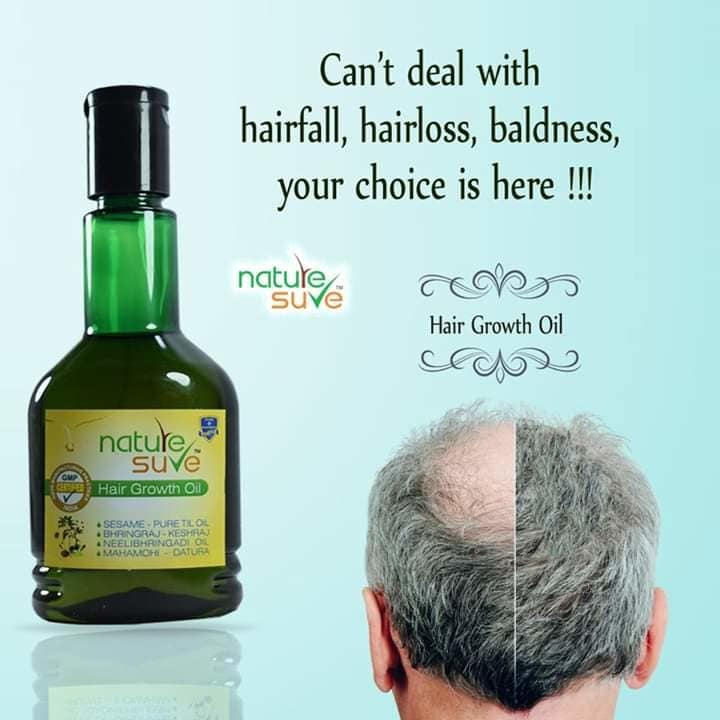 Tired of seeing your hair fall??? Well, we have a brilliant solution for you.   Try Nature Sure's Hair Growth Oil  #NatureSure #healthyhair #hairgrowth #trynow #trending #bestproducts #herbal #natural  #ayurveda