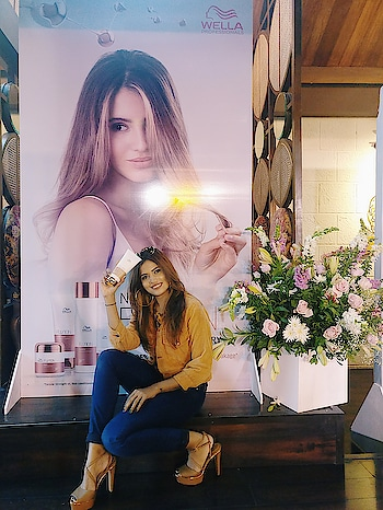 Saying good bye to bad hair days with the launch of #wellafusion which infuses the technology of spider silk to make hair #SoftAsSilkStrongAsSteel ♥♥💪 Also, the fashion show by #WellaXPayalSinghal was a fresh & super cool way to launch this exciting new hair care range @wellaindia @payalsinghal ....more in my stories 👋 #WardrobeSecrets #Wella #HairCare #LifestyleBlogger #BeautyBlogger 📸 - @trushna_parekh