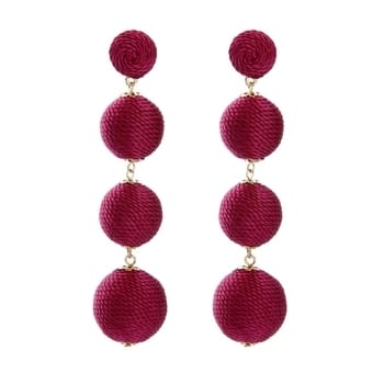 Thread Earrings (Thread Series)  Wow your look with these gorgeous earrings..  ▪Styling Tip :- Pair it with a sleek bracelet from our store.. ▪+point :- Can be worn with both Western and Ethnic outfits..   So what are you waiting for?? Order now..!!💕 We love to give our clients styling tips for any accessory from head to toe..😊   #ADORNABLES #earrings #thread #bohemian #statementpieces #statementaccessories #statementembellishments #statementearrings #fashionaccessories #fashionjewellery #fashionembellishments #fashionearrings #picoftheday #instagood #maroon #instagood #instafeed #likeforlike #followforfollow   Follow and get more variety on our social media pages.. ▪Instagram :- adornables_sonalijain ▪Facebook :- https://www.facebook.com/sonalijainsk/