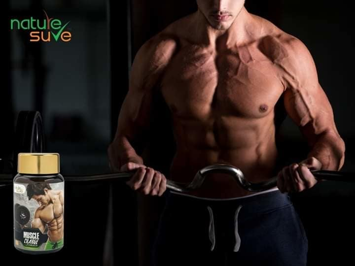 Nature Sure Muscle Charge  Buy From Amazon.in, Flipkart and www.naturessure.com #natural #ayurvedic #muscle