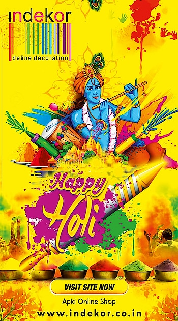 Wish you all a very #HAPPYHoli . May your life filled with the colors of love, peace, friendship and happiness !!🌺🌺💐💐   #stayblessed   #happyholi  #holi2019  #rangbarse  #holihai  #buranamanoholihai  #happyholi2019  #colors  #indianfestivals  #indekor  #concept13  #advertising  #seemaverma #holiswag  #festivalofcolors  #gujhiya  #thandai