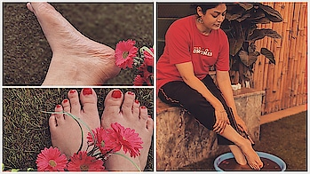 Uploaded a video Beautifuls!!!   Special winter care for your Beautiful Feet. Say bye bye to Ur Cracked heels. They won't last longer🤗  Watch the video here https://youtu.be/HNw7D6yjckU  Or the #linkinbio  #walkamilewtihrohini #indianyoutuber #youtube #crackedheels #feet #footcare #naturalremedy #softheels #beauty #beautybloggeronyoutube #beautyblogger #video