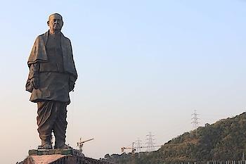 #happybirthdayto #sardarvallabhbhaipatel #statueofunity #gujarat #worldslargeststatue#ironmanofindia