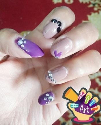 #nail-addict #nailswag #nailpolishlove #nailtrends #donebyme#nailfie#nailfei