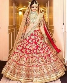 #wedding_lehnga