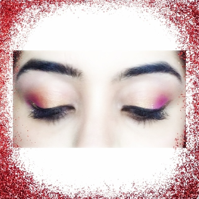 Created this simple wedding eyeshadow look.  Step 1-Use a concealer to neutralise the eyelids and blend it.  Step 2-Set it with compact.  Step 3-Use a @proarteworld eyeshadow blending brush and define the crease using your favorite Bronzer.  Step 4-Use the rust color from @wetnwildindia eyeshadow trio and place it on the inner thirds of the eyelid  Step5-Apply a pink shade from @makeuprevolutionindia salvation pallete Step 6-Blend and use copious amounts of Lash sensational Mascara by @maybelline  Step 7- Apply some black gel eyeliner using an Angled brush.  Step 8 -Use a Gold eyeliner at the outer wing to make the eyes pop  and line the waterline with a gold jumbo eye pencil by @nyxcosmetics_in Voila 💗💗💗💗💗💗        #bloggerstyle #bloggerlife #bblogger #beautyblogger #lifestyle #lifestyleblogger #fashionblogger #fashionista #instafashion #youtuber #youtube #instagood #instadaily #picoftheday #bloggers #instablogger #lifestylebloggers #bbloggers  #parfum #makeupbloggers  #eyemakeup #eyeliner #cosmetics #beauty #eyeshadow #proarte #eyes #eotd #motd