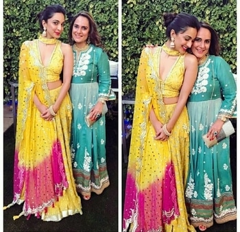 Lovely Kiara Advani poses with her Mother...