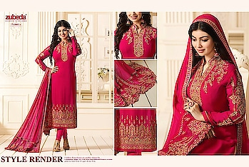 Zubeda Nargish  Heavy Dupatta  ₹ 2255= Shipping Cost Extra  Singles & Multiples Also Available Ask for fullset discount   Ready stock  To order Call or WhatsApp on +918097775536  From, ArtistryC.in