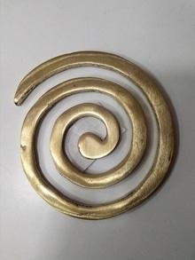 Brass helix,  For more information about vastu fengshui call on 9322295481 website : www.vastufengshui.in  #vastufengshui