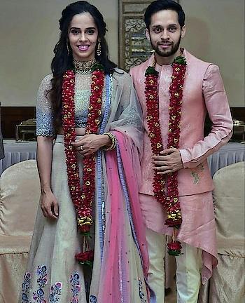 #sainanehwal #justmarried