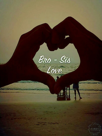 #Bro-Sis #love #sisterlove #brother #beach #sunset     #camera #nature