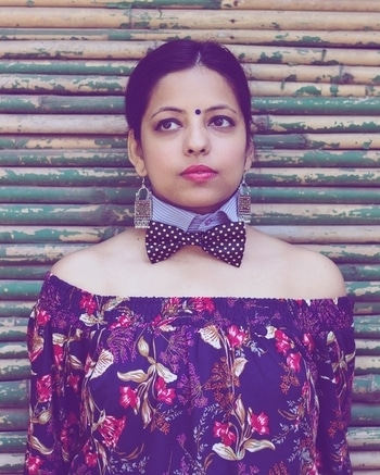 A retro swagger...  #Kashion #diyblogger #diycollarnecklace #diy #diyfashion #roposogal #fashionables #jewellery #jewelleryindia #summer-looks #look-book