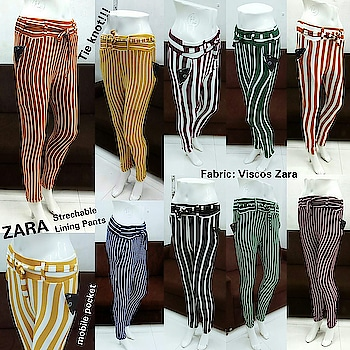 Viscos zara fabric pant  Quality good  Very smooth and stretchable fabric  Tie knot and pocket pant  Size free 26 to 38    350+$ Ayy1207  WhatsApp to order at AsliFashion 8374801669  #pocketpants #bottomwear #aslifashion