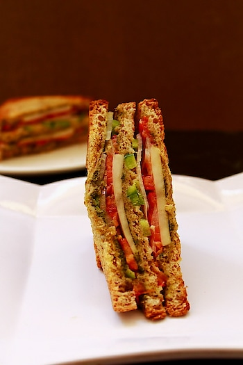 'Bombay Veg Sandwich' When you got nothing, you have sandwich.   #foodphotography #foodstagram #tastespotting #yougottahavethis #sandwich #bombayvegsandwich #foodlover #food #foodporn #foodie #tasty #lucknow #love #blogger #foodblogger #indianblogger #lucknowblogger #foodbloggers #loveforfood #foodpictures #foodpornography  #foodislife