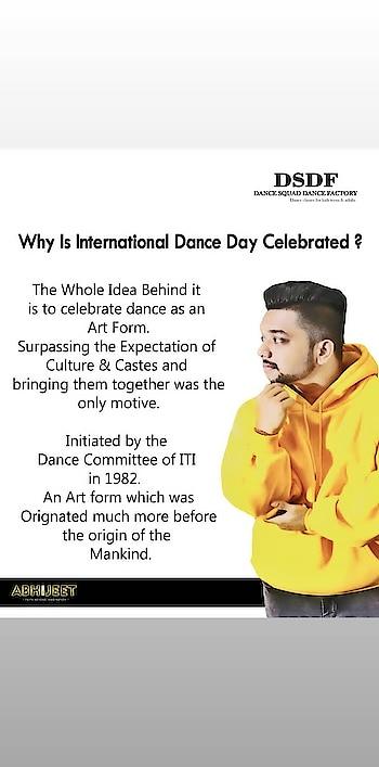 #internationaldanceday #abhijeetganguli #worlddanceday #dance #danceindia #dancelove