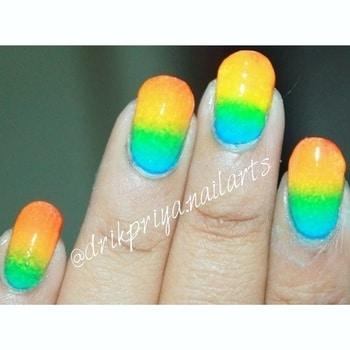 #Repost @drikpriya.nailarts with @repostapp ・・・ Rainbow Ombre Nails .. #ombre #ombrenails #rainbow #rainbowombre #rainbowombrenails #nailsoftheday #mattenails #nailart #nailartclub #nailartdesign #nailartwow #nailartaddict #nailartist #nailartdesign #lovefornailarts #instanailart #instanailstyle #instanails #nailartblogger #easynailart #nailartlove #nails #nailarts #nailpolish #nailartworld #glossynails #shinynails