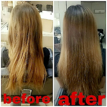 Finnaly your new hero come @olaplex if your long hair suffers from splits and breakage, Olaplex is your new hero treatment (finally a way to remove our split ends and broken hair.)  Hey guys can you see the difference????? I tired olaplex , this is what happened By using the @olaplex treatment.(to remove broken bonds in the hair)  My hair is definitely one of my most - prominent feature. People are always asking me about my hair colour and what I do to it.  I literally did nothing at all. I just used @olaplex Treatment from @lakmesalon  This is the detals of using @olaplex Treatment.👇👇  First 👇 He applied no. 1bond multiplier on my hair litting sit for 5mins.  Second 👇 He applied no .2 right on the top and let them sit long enough to penetrate into my hair.   Thirdly 👇 he rinsed it all out,he lightly blow dried my hair followed by colour application becausd my hair was so damaged.💆  I Simply wanted to shared my hair experince with you I'm really happy with the results of using @Olaplex My hair is definitely healthier, more manageable, and even my colour looks fresher and natural.  U can go and check out your hairgoals by using this treatment.  #fashioblogger #fashionsinsta #colour #haircolourlove #colourgoals #hairgoals #fashions #fashionindia #delhigirl #delhiblogger #delhite #goals #indianblogger #newhero #longhair #healthlyhair #happy   Photography done by  👇👇  @thecutelookbook
