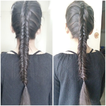 #fishtail  #dutchbraid  #beautifulgirl  #longhair :-)