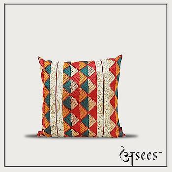 This summer, give your home a nature's touch with these Hand block printed cushion covers in earthy tones of Phulkari embroidery. . . . @shaliniganguliinteriors @theeastcoastdesi @preethiprabhu #aseesbyaakriti #asees #phulkari  #cushioncovers #phulkari_collection #threadwork #traditional_phulkari #indian_phulkari_designs #instafashion #Fashiondiaries # #homedecor #interiordesigninspo #interior #decor #designlife #homedesign #handmade #homesweethome #interiors  #furniture #luxury  #homedecoration #homestyledecor #interiordecor #instahome #interiordesigner  #homeideas #indianinteriors #indiandecorideas
