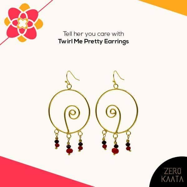 Immerse in all things love with your sister and gift her these gorgeous Nirvana earrings.   Shop anything and get straight 30% off on your purchase, post signing up.  Buy Now @ https://goo.gl/CBd4L4  #zk #zerokaata #fashion #style #rakhigift #rakhi #brother #brothersisterlove #love #earrings #necklace #bracelet #jewelry #giftforher #gift #onlinejewelry #jewelryonline #brassearrings #uniquegifts #brotherandsister #giftingideas #rakshabandhan #punjab #tamilnadu #Delhi #karnataka  #jewellery