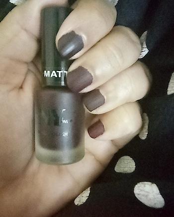 Brown Nails 💅 . . .. . . . . . . #mattenails #mattenailspolish  #mattenailpolish #nails #nailsofinstagram #mattebrownnails #brownnailpolish #brownnails #beautyinfluencer #bangalorebeautyinfluencer  #indianreviewblog #indianbeautyblogger #indianbeautyblog #bangalorebeautyblog  #indianblogger #nailenamel #nailpolishlove  #nailsofinstagram #nails💅 #nailswag #nailfie #nybae #nybaenailpolishes #insta #instapic #instagood #instanails #instanail #instanailstyle  #instamonday