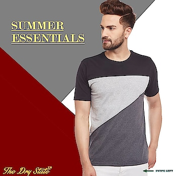 Grab these summer phenomenon now. Soothing and comfortable to wear this hot summer. 💯% cotton comfort!!😎😎 .  #thedrystate #ootd #instafashion #ootn #fashionblogger #casual #casualchic #classy #teeshirt #top #fashionista #fashionAvailable @flipkart @myntra @amazonfashionin @paytm @mrvoonik @snapdeal #exclusive #myntra #t-shirt #casuals #fashion #style #lifestyle #lifestyleblogger #blogger #followforfollow #like4like #like4follow #tees #westerwear #streetwear #indianfashionblogger #mumbaifashionblogger