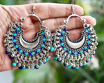 DM or WhatsApp@8448514109 to order these Afghani earrings!! #roposo-fashiondiaries #roposo-style #roposo-good #earringlove #designerjewellery