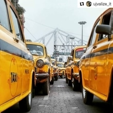 Calcutta in a Frame! Smitten by these curvy belles, I decided to be an #ambassador of the city :)  Repost @ujvalize_it  #howrah #love #travel #wanderlust #kolkata #calcutta #india #taxi #cab #traveller #travelling #indiaclicks #kolkataclicks #kolkatacity #kolkatagram #calcalling #calcuttacacophony #sokolkata #whatsupkolkata #hellokolkata #amarkolkata #onlyinbengal #kolkatablogger #ig_calcutta #kolkatastreet  #ourcitykolkata #storiesofkolkata