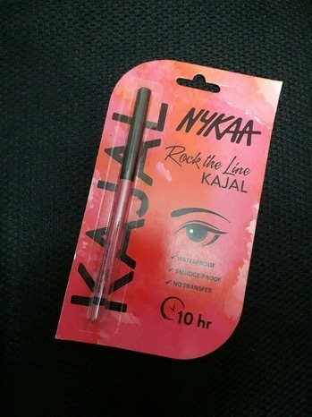 hey lovely people out there i am back with a kajal pencil which is by #nykaa. it is sooo dark ,smudge proof and it dont at all get transferred it stays for 10hrs. this kajal pencil  called  as rock the line kajal. it cost approximately 199rs. this kajal is by #nykaa so never ever have doubt about quality. and I just love it's packaging. so do give it a try it's a good product on basis of quality. to enhance the beauty of your eyes do give a line of kajal on lower lid of your eyes and have perfect look . and yaap i have more uses of kajal pencil if your in Indian attire do use kajal to make small Bindi it looks good and most important it complete the hole Indian look.then you can use your kajal as base of your Smokey eye makeup to give it a depth and that deep Smokey effect thats all for now  guys enjoy your life it's too precious. lots of love to you all 😗.#roposogal #roposoreviewoftheday #roposoproductreview #roposofever #roposo-makeupandfashiondiaries #roposobabe #rockthelook #nykaa #nykaabeauty #nykaakajalreview #nykaakajalpencil #kajalforeyes #kajallove #roposoeyes #darkkajal #rocktheline #smudgeproof #transferproof  #waterproof #kajal #roposotrends #soponline #roposoindia #roposoindianblogger #roposomumbai #roposobeautyinfluencer #productreviewoftheday #productoftheday #productreviewer #lovenykaa #loveeye #eye-makeup #eye-makeupay #smokey-eyes #smokeyeyemakeup #bindi #bindilove #classychic #blackisbeautiful #black #loveforfashion #navimumbaiblogger #lifestyleblog #passionforlife #lovemylife #lovemyfollowers #eyeenhancer #eyerdaymakeup #sassychic #rocks #confidenceissexy #different-is-beautiful #thinkdifferent #bedifferent #loveroposo
