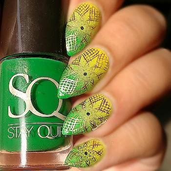 #lookgoodfeelgood #nails #nailart #nail-addict #nail-designs #nailswag #likeforlike #nailstamping #creativespace #roposo-creativeartist