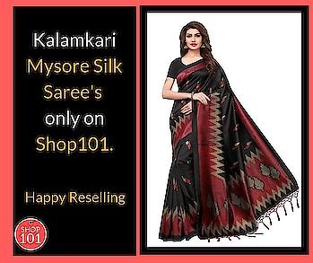 Download: http://bit.ly/2D12b3g  #saree #sareestyle #designer-saree #silksaree #kalamkarisarees #womensaree #women-style #women-fashion #shop101 #sellonline #onlinebusiness #business #businessman #businesswoman #fashion #thebazzar