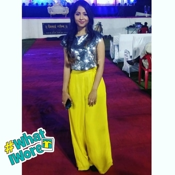Palazzo: @vajor  Crop top: Zaful   #youtubeindia #indianyoutuber #bbloggerindia #ytcreatorsindia #puneblogger #pune #punetimes #punecity #outfitpost #outfit #ootd #vajor #weddingoutfit #wedding-outfits #makeup #browngirl #tan #dusky #whatiwore #palazzos