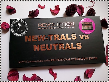 Keep your eye makeup on point. Check out the review of this eyeshadow palette on my blog here: http://www.hercreativepalace.com/2018/04/makeup-revolution-new-trals-vs-neutrals-palette-review-swatch.html  #hercreativepalace #eyes #makeup #eyeshadow #palette #eyeshadowpalette #review #loveformakeup #kanikasharma #blogger #delhi #india #newblogpost #swatch