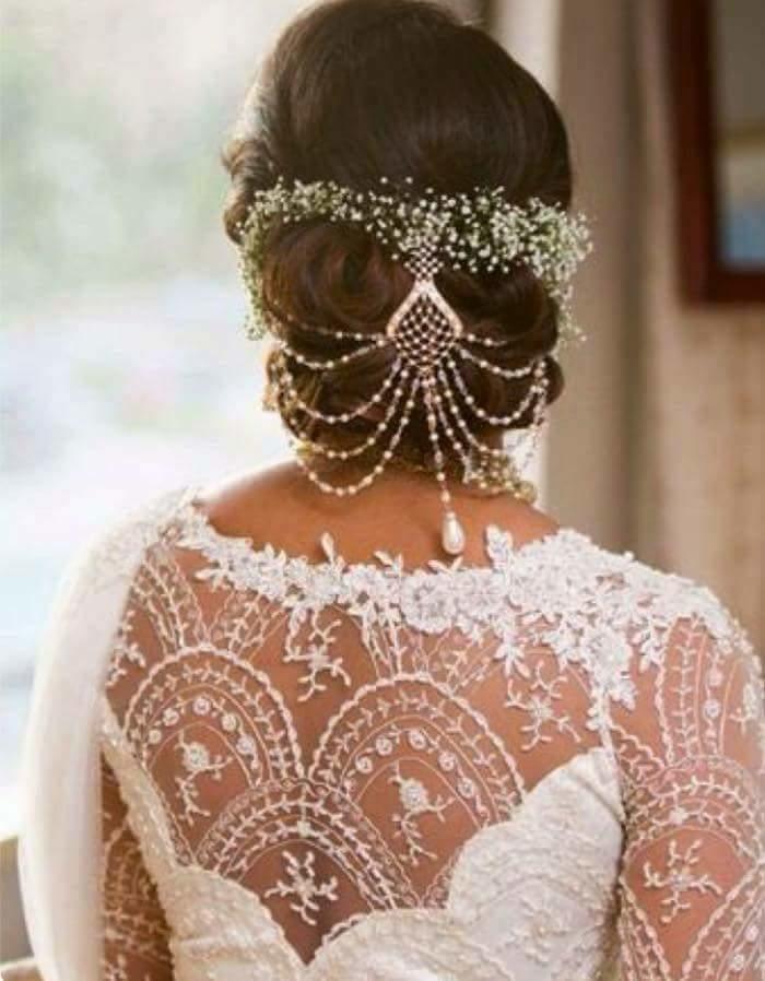 #blouse back#hair#pretty