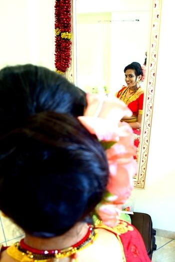 #rosemakeupartistry #indianbride  #punebridalmakeupartist #southindianbride  #makeupartistinpune #asianbride  #bridalmakeup