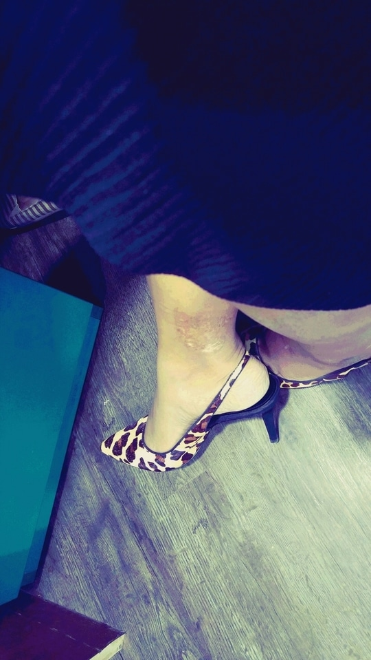 animal print slingbacks from Charles & Keith..my most comforatble pair #heels  #slingback #animalprint #shoeaddict #shopaholic #charlesandkeith #shoelove #heelslove #agirlslife #loveforshoes #ropo-love #roposo #roposolove #soroposolook #workwear #fashionblogindia #fashion #befashionastic