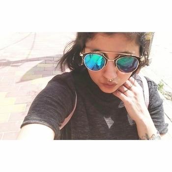 Selfie Love  #fashion #fashionista #youtuber #selfie #selflove #summer #grey #neutral #septumpiercing #septumring #shades #sunglasses